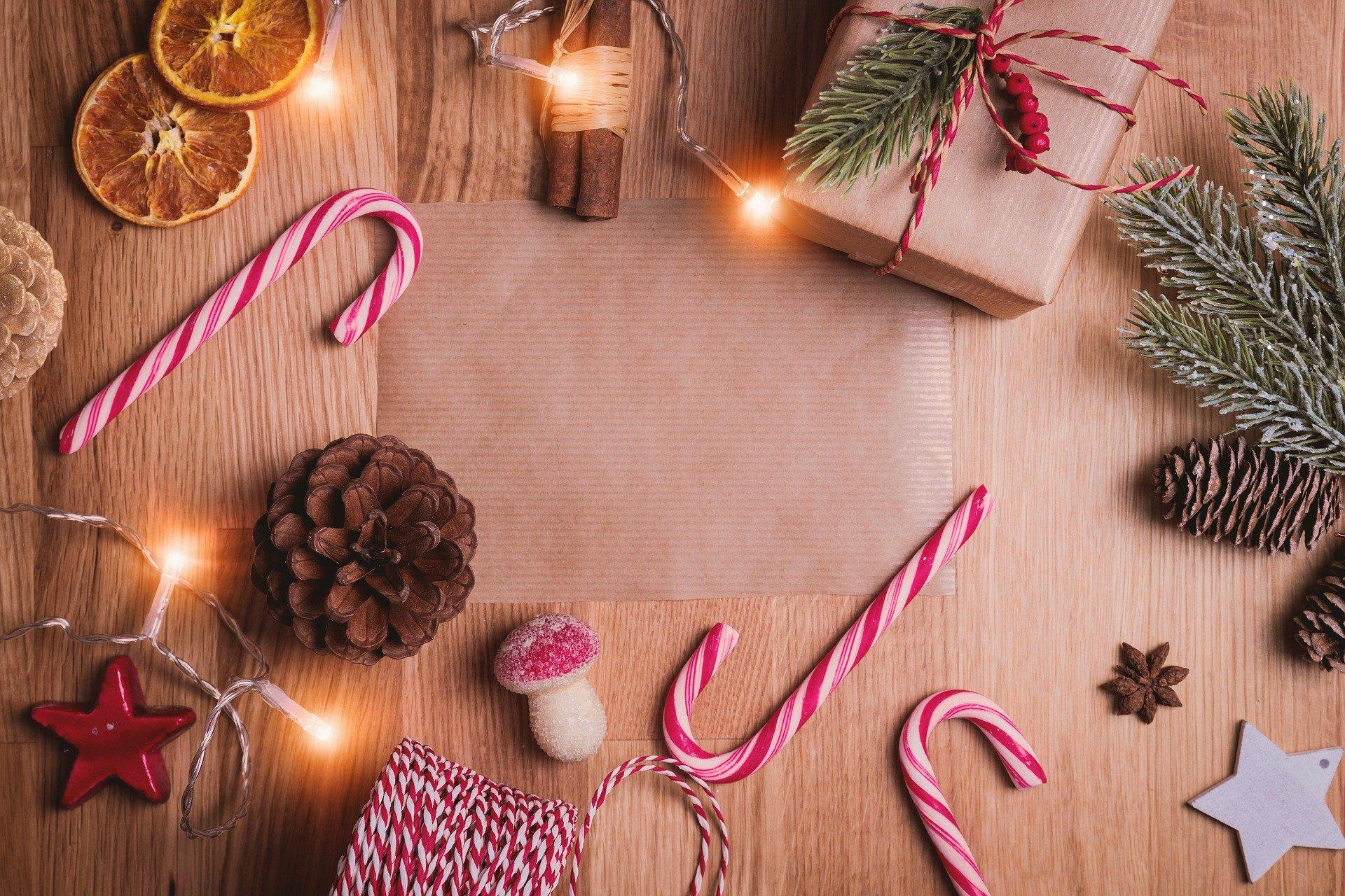 święta prezenty słodycze